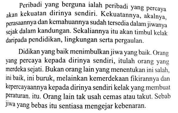 'Percaya Diri' - HAMKA, Peribadi #books #hamka
