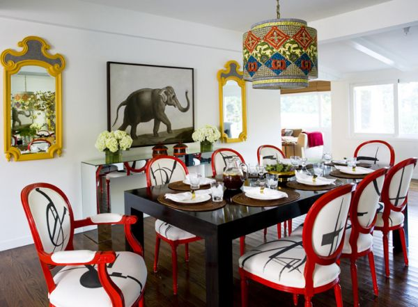 Design Chic: Things We Love: A Touch of Red