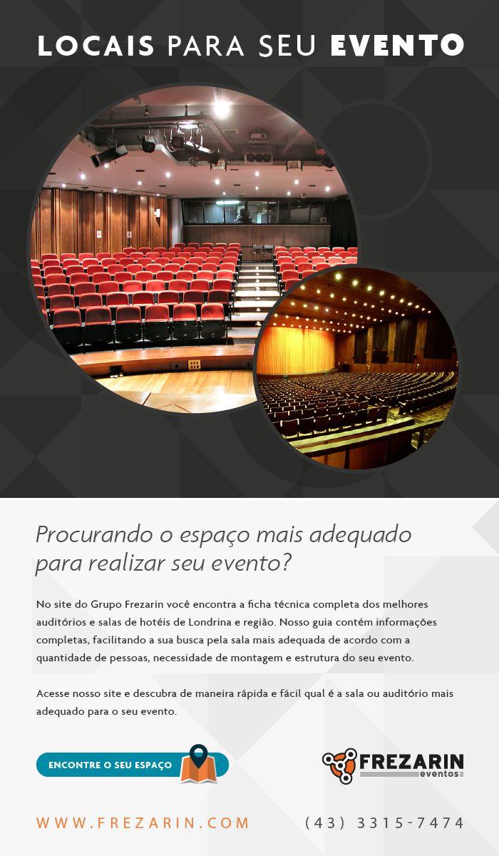 Ferramenta para Encontrar Locais de Eventos em Londrina e Região.