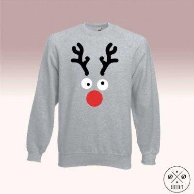 Męska bluza z reniferem, dobry pomysł na prezent pod chinke lub mikołajki. Men sweatshirt with raindeer www.ddshirt.pl