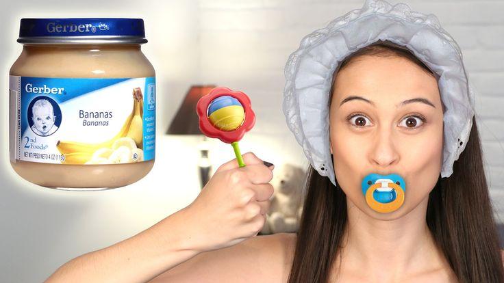 BABY FOOD CHALLENGE || Let's Eat