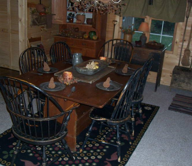 Primitive Kitchen Table And Chairs: 172 Best Images About Farmhouse Tables On Pinterest