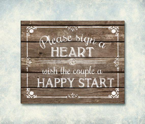 Gelieve aan te melden een hart houten afdrukbare bruiloft teken, gastenboek teken, bruiloft hart gastenboek, alternatief gastenboek, afdrukbare teken, hout