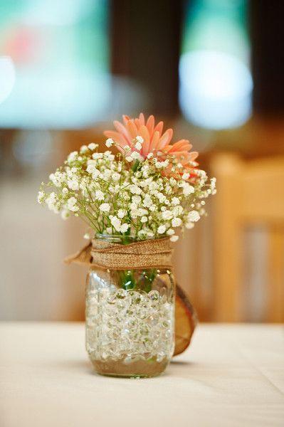 Gerbera daisy centerpiece pinterest te masa ortası
