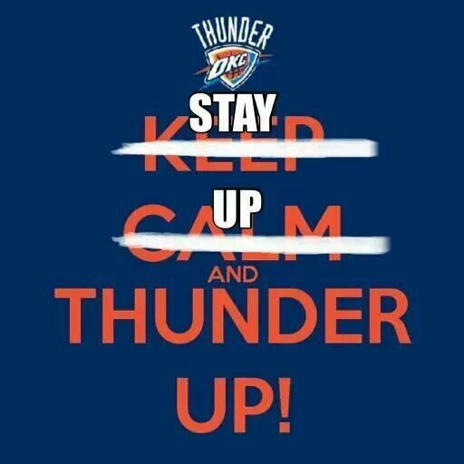 For those late OKC Thunder games!