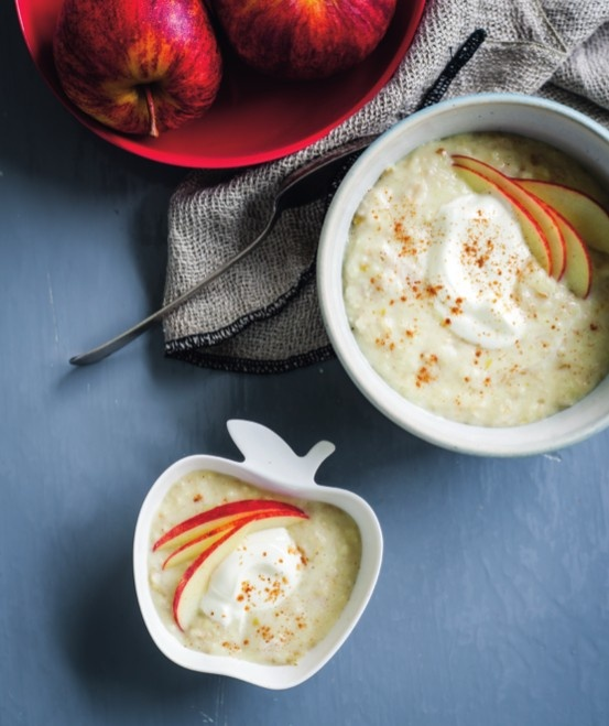 apple cinnamon porridge | Thermomix | www.louisefultonkeats.com