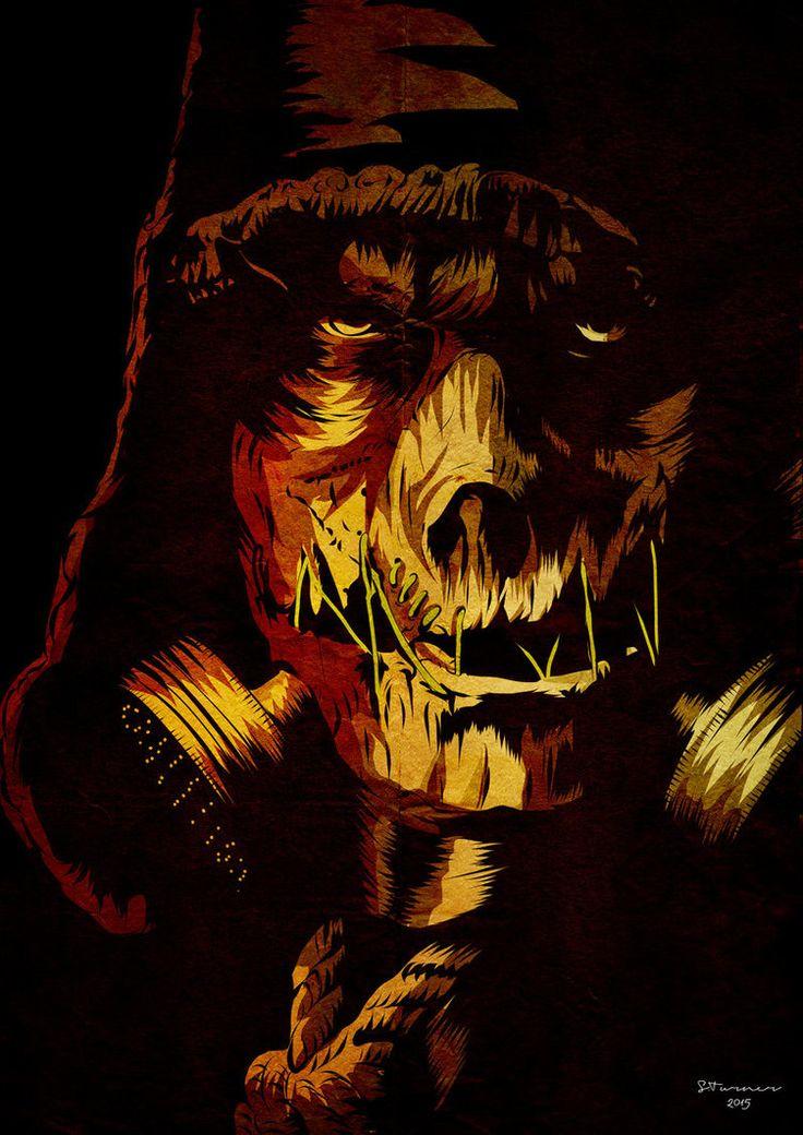 Scarecrow Arkham Knight by BezerkArtwerk