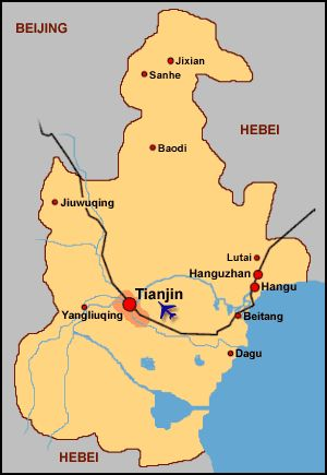 nice Tianjin Map