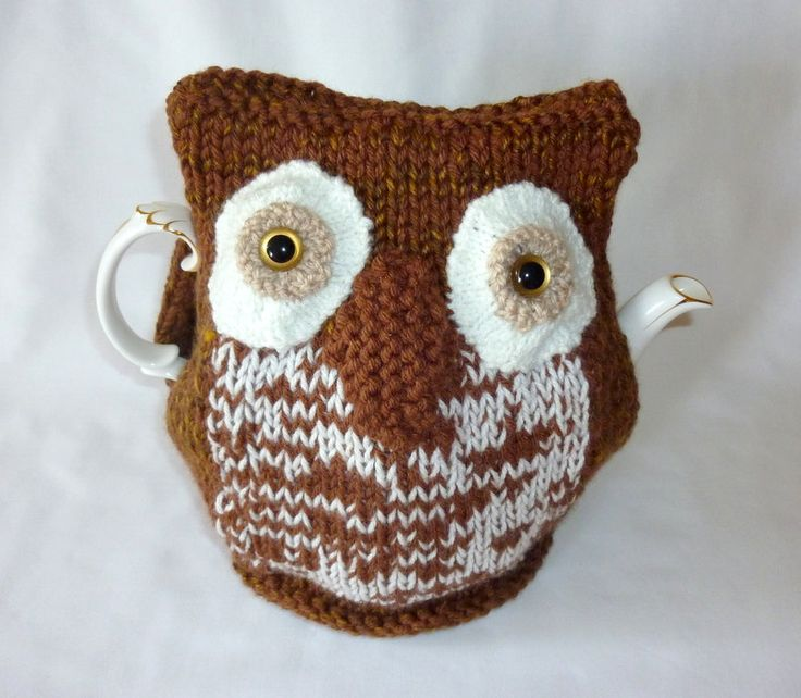 Knitted Owl Tea Cosy Pattern : 1,000 ???? ?Knitted Owl??????????????Pinterest ???????????????????