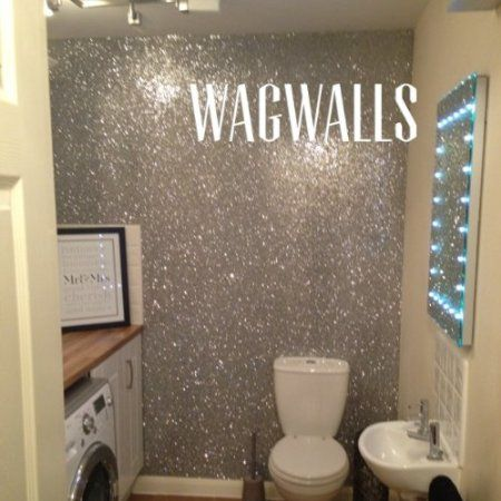 Afbeeldingsresultaat voor glitter verf muur