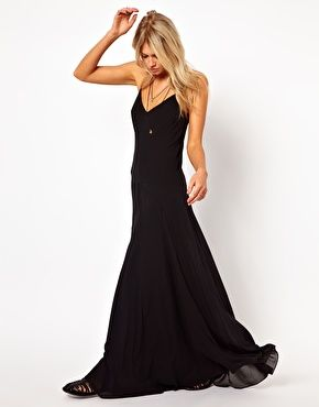 Enlarge ASOS Maxi Dress With Seam Detail
