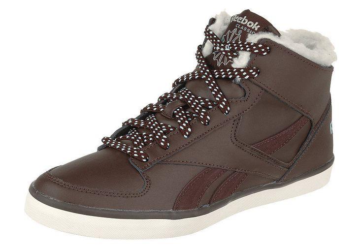 DAMEN REEBOK Classic High-Top Winter-Schuhe Warm Sneaker gefüttert leder Gr.37:… – Italyshop24.com