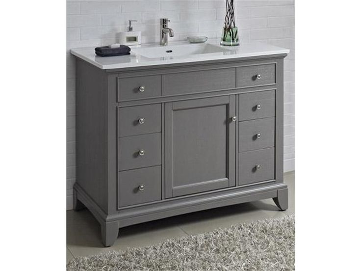 Best 25 42 Inch Vanity Ideas On Pinterest 42 Inch Bathroom Vanity Bathroom Sinks And Single