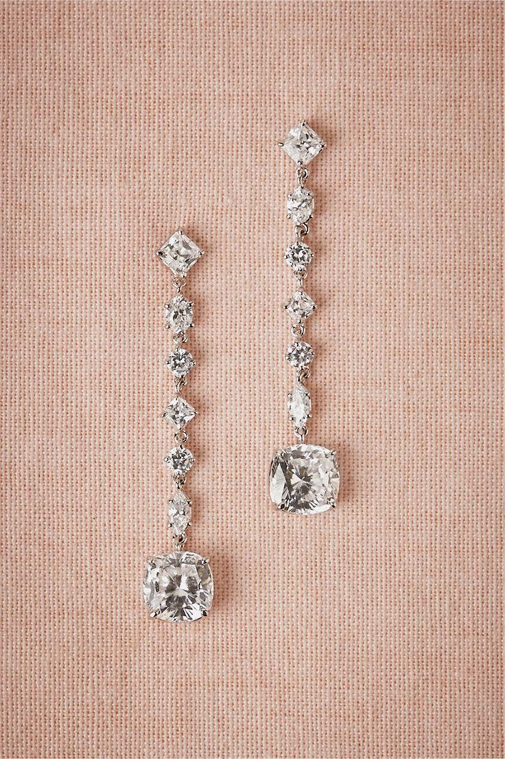 Arabella Drops in Bride Bridal Jewelry Earrings at BHLDN