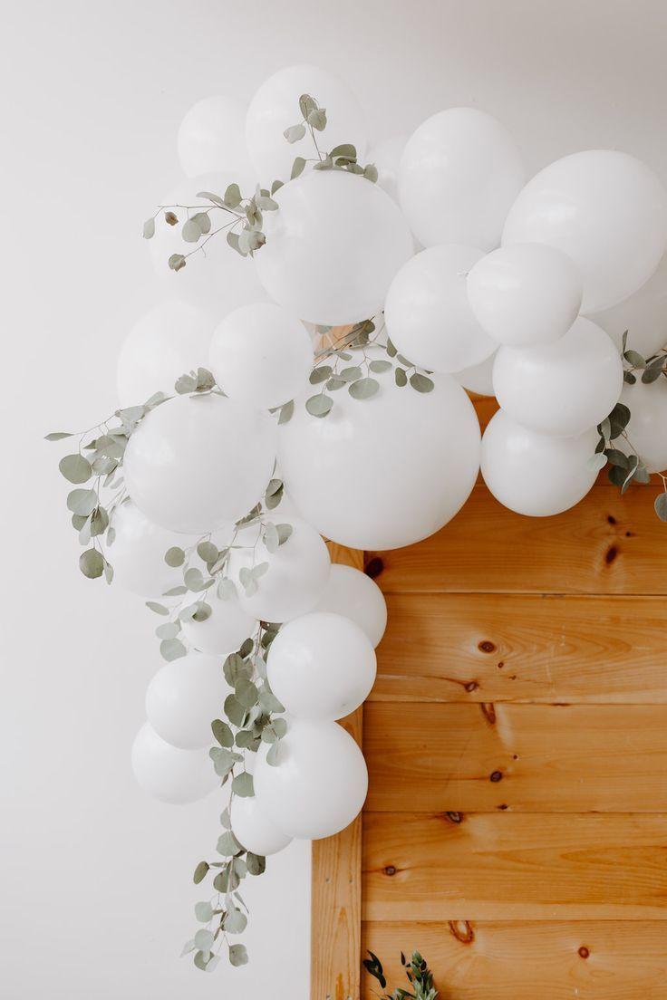 Süße + einfache Babyparty – Hochzeit deko – #Babyparty #Deko #einfache #Hoc
