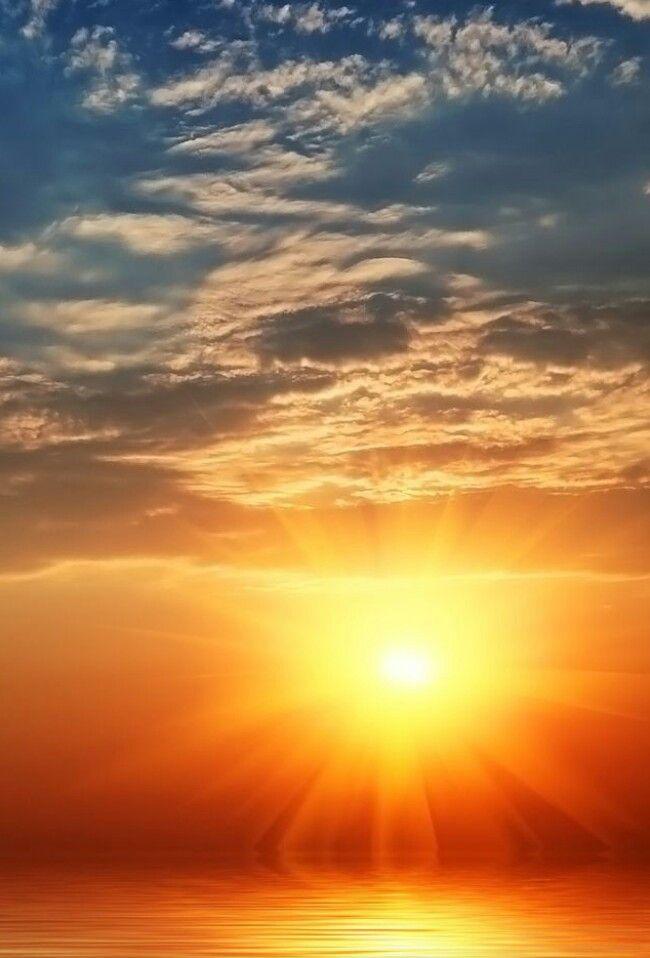 Precioso atardecer | Gorgeous sunset - #cielo #sky
