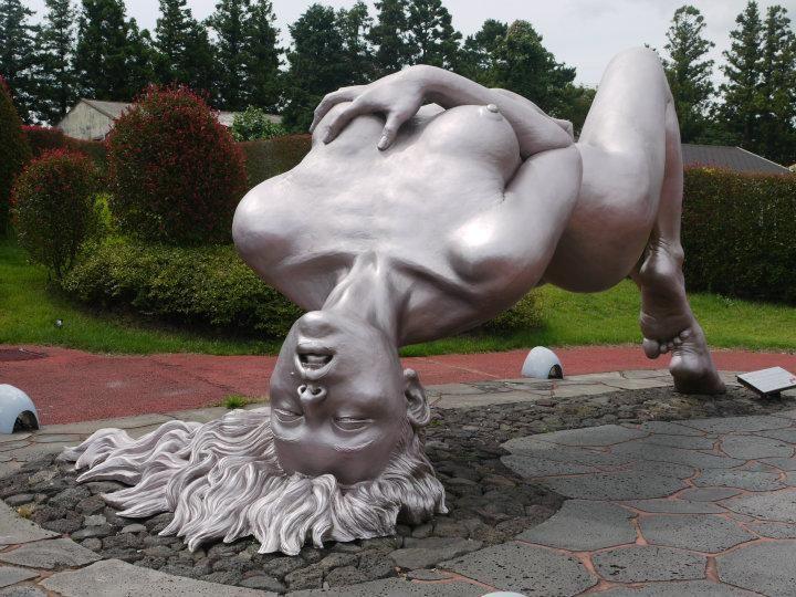 Jeju Loveland statues