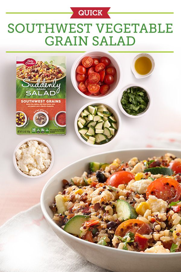 Vegetables, Grain salad and Zucchini on Pinterest
