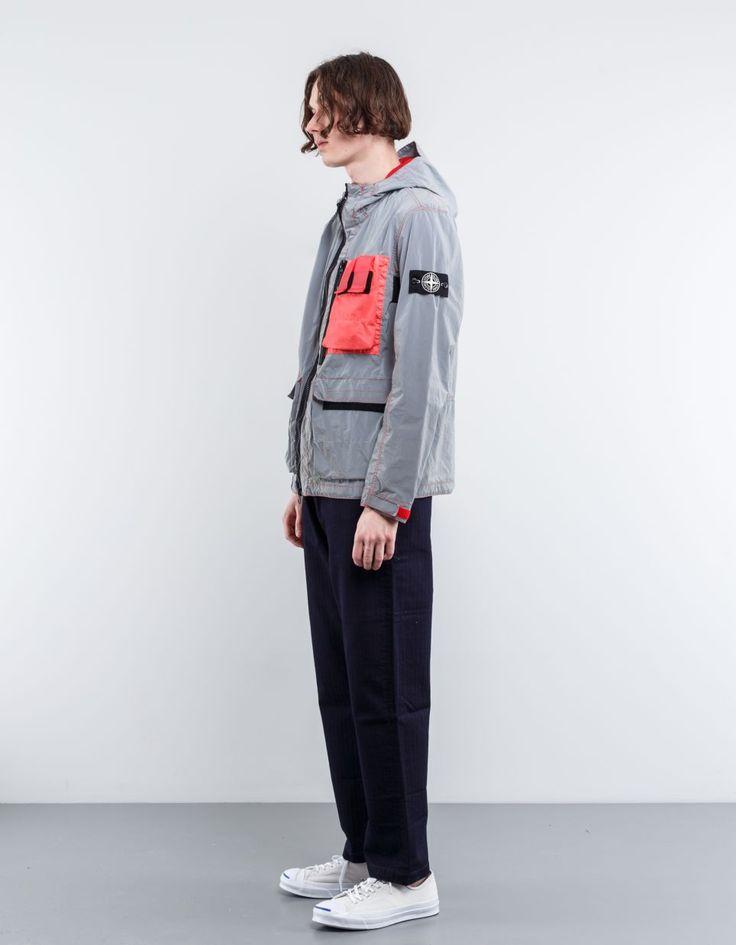 Stone Island - 6615101WN - Plated Reflective Jacket