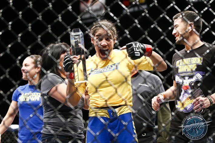 Ultimate Fighter 18 Finale Winner! LOVE Julianna Pena!