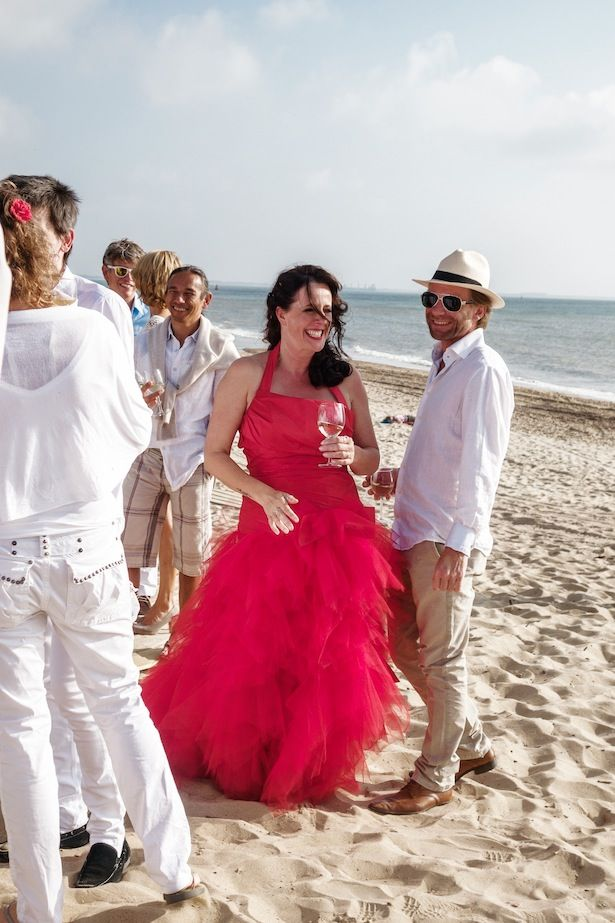 Rode trouwjurk van Assepoester