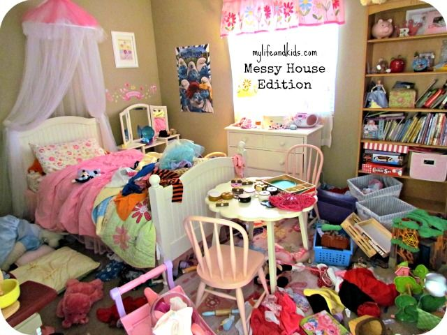 how to clean a really messy room in an hour