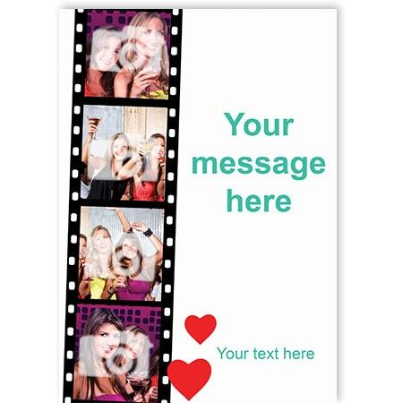 Design your own greeting cards in only a few quick steps! Quick Click Cards allows you to personalise your greeting cards with a photo upload and/or a message! Be creative with your gifts! #gifts #greetingcards #personalisedgifts #personalisedcards #coolgifts