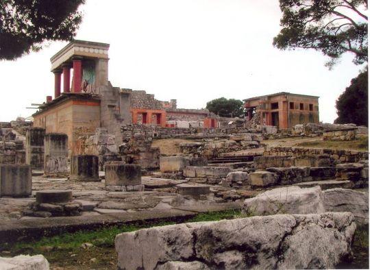 Ruinen des Palastes von Knossos, Kreta