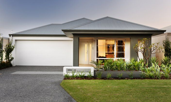 Dale alcock home designs elwood visit for Front garden designs perth