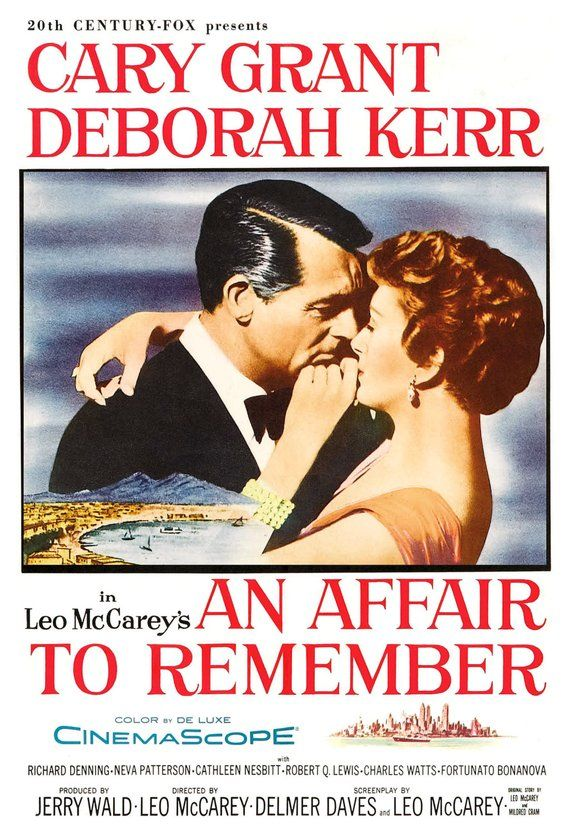 An Affair To Remember Cary Grant Deborah Kerr Movie Romance