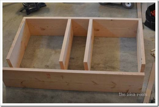 build washer and dryer platform - The Idea Room