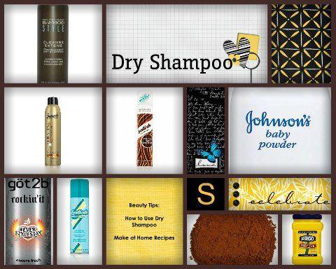 #Beauty #Hair Dry Shampoo Tips and Dry Shampoo #Recipes via momalwaysfindsout.com