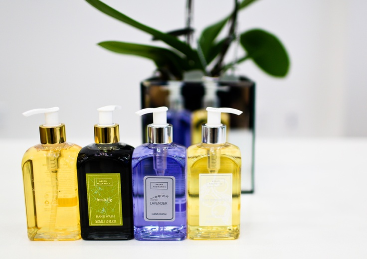 Arran Aromatics hand wash in several scents. Imported from Scotland. Enter to win a $300 #NottingHill gift card theprov.in/notting contest #contest