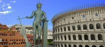 Rome Reborn -- a digital model of ancient Rome