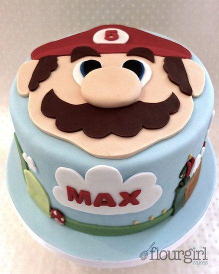 Super Mario Bros. - Cake