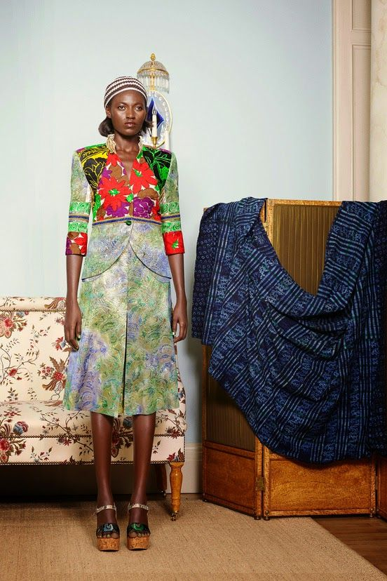 Playing Dress-up: Duro Olowu SS 2015   African Prints in Fashion