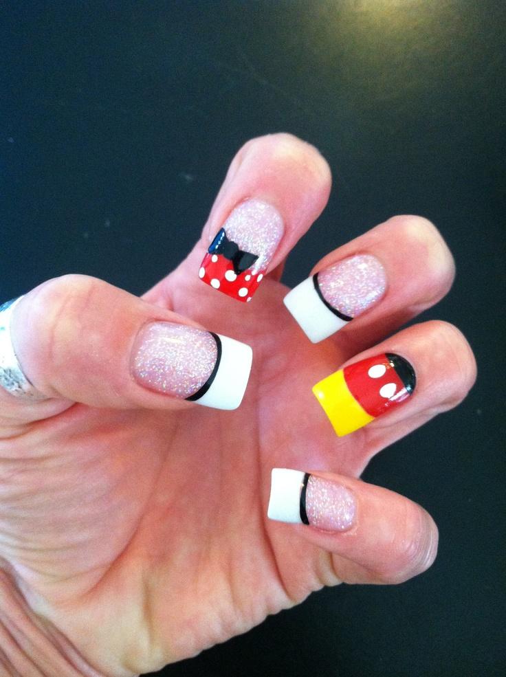 Disney Nails:))