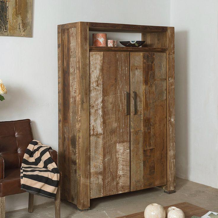 Шкаф из массива тика из новой коллекции фабрики D-Bodhi. Как всегда отличается прямыми линиями и безупречным исполнением. Материал: Дерево. Бренд: Teak House. Стили: Лофт. Цвета: Коричневый.