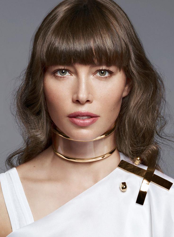 Джессика Бил — Фотосессия для «Elle» 2013 – 1