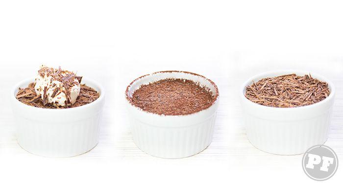 Mousse de Chocolate com Creme Irlandês por http://pratofundo.com