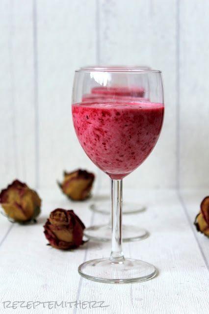 Rezepte mit Herz   ♥: Himbeer - Creme - Dessert / Raspberry Cream