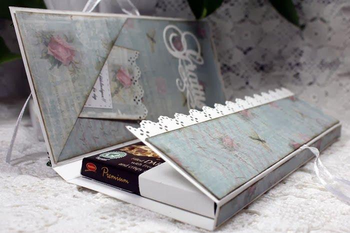 Annelis scrap och kortmakeri: Dt-alster för PY Hobby - Chokladkort