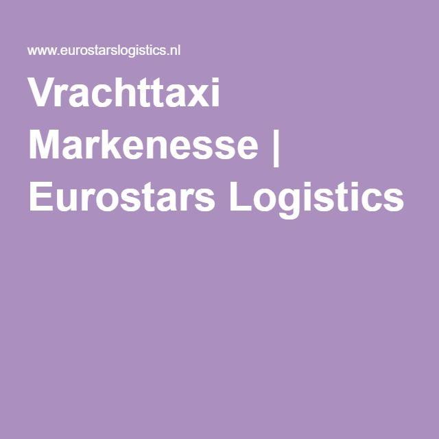 Vrachttaxi Markenesse | Eurostars Logistics