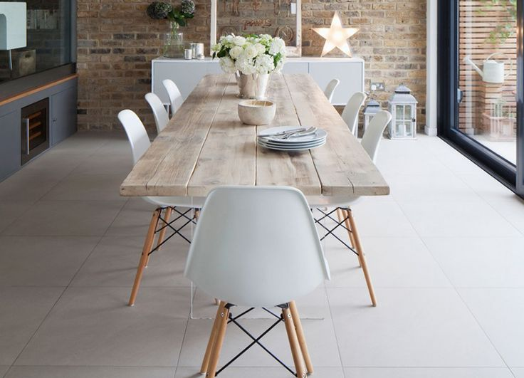 Dining #table #interior #basic #wood