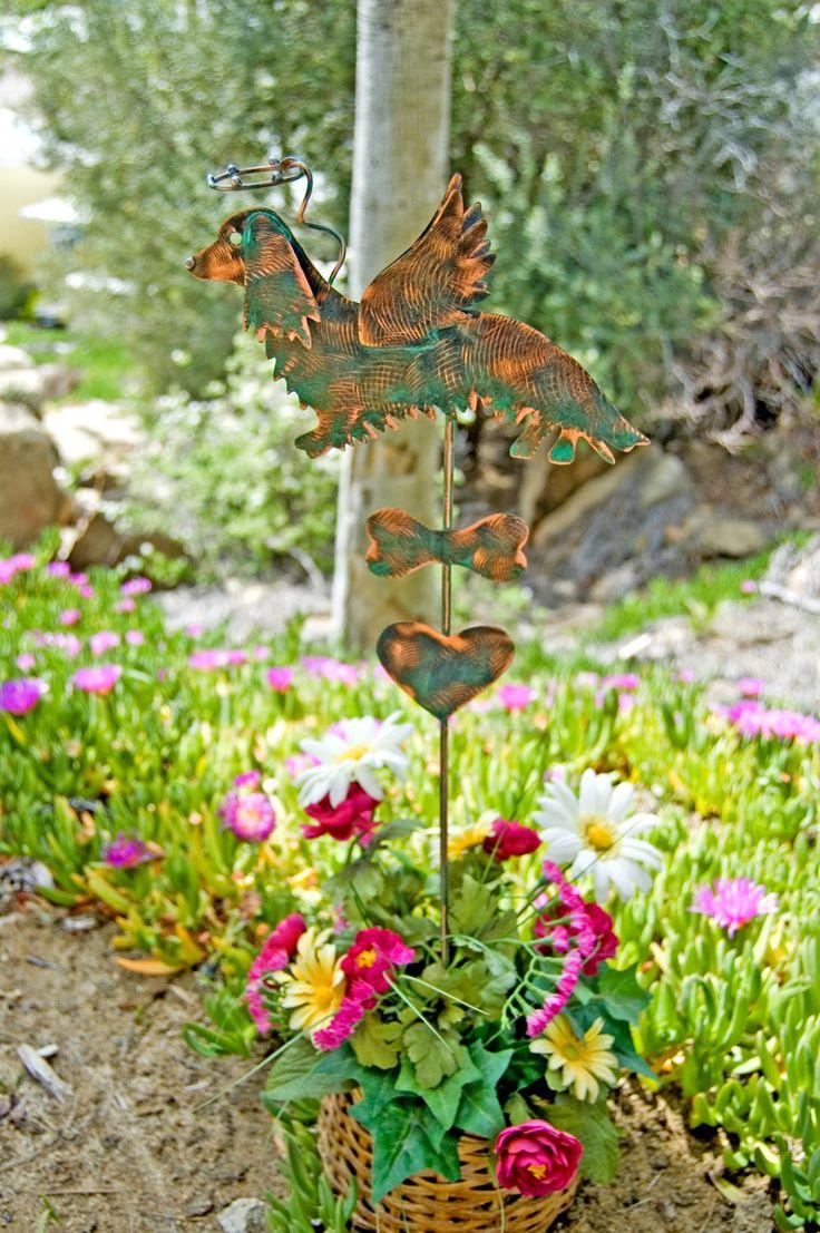 279 best PET MEMORIAL GRAVE GARDEN STAKES images on Pinterest