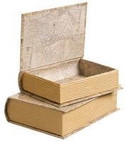 Förvaringsbox Bok - Förvaring - Rusta