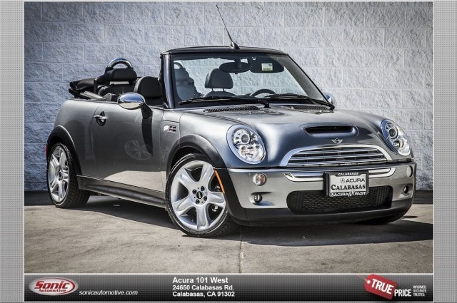 2008 MINI Cooper Convertible S http://www.iseecars.com/used-cars/used-mini-cooper-convertible-for-sale