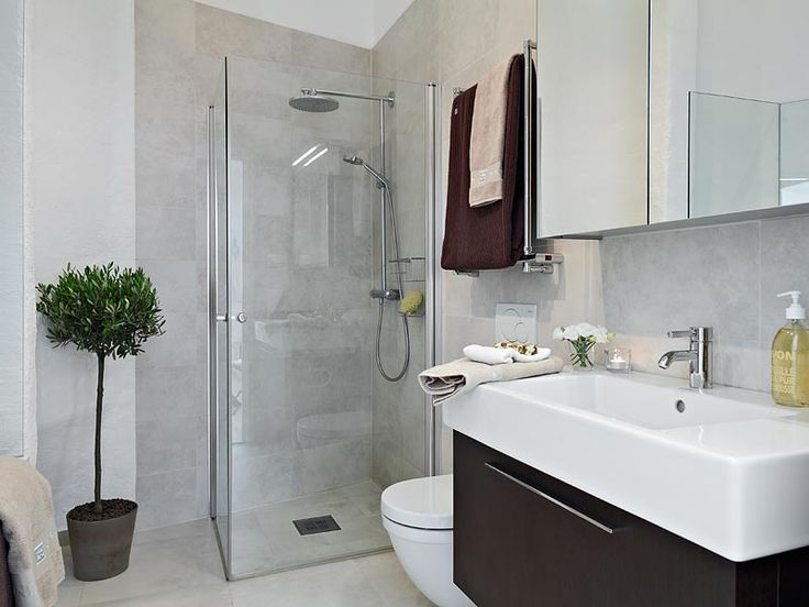 Images About Small Bathroom On Pinterest White Subway With Modern Bathroom  Design Ideas For Small Spaces.