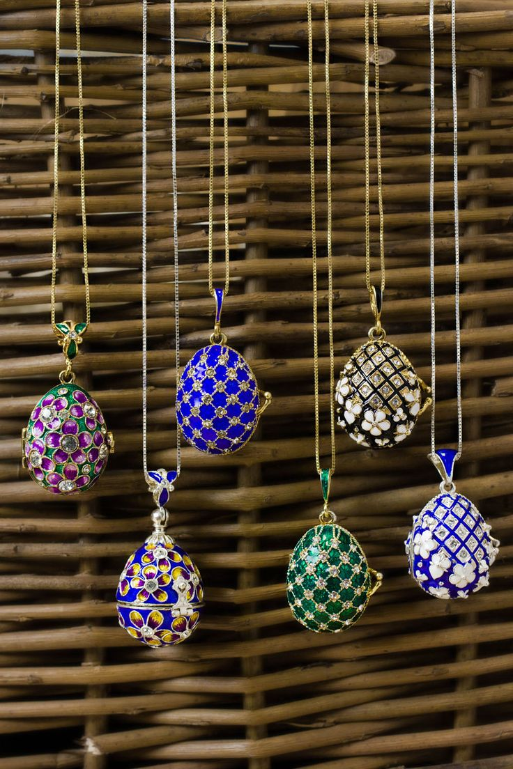 #HappyEaster Faberge eggs are the type of eggs we want in our basket this easter