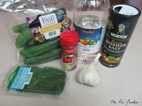 The Pin Junkie: Homemade Refrigerator Pickles